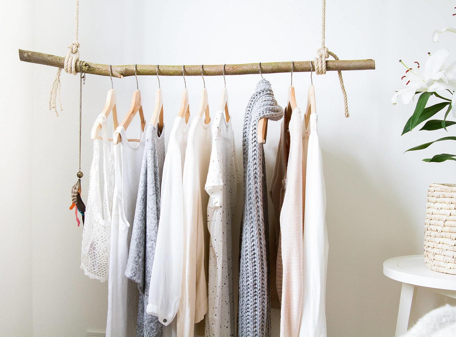 вешалка для одежды своими руками из дерева