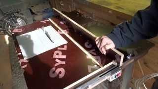 самодельный стол для циркулярной пилы