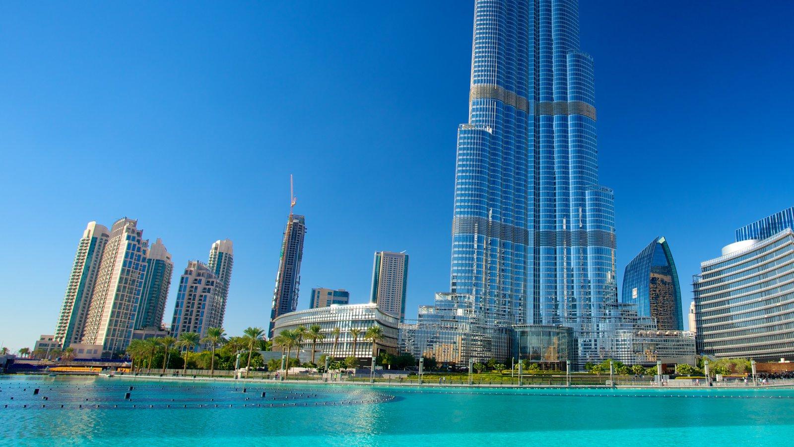Cамое высокое здание в мире в дубае (бурдж-халифа)