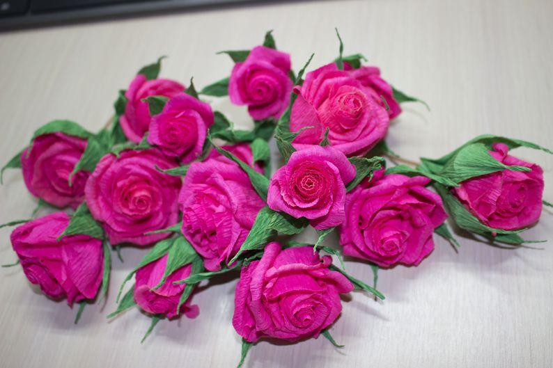 цветы из гофробумаги своими руками
