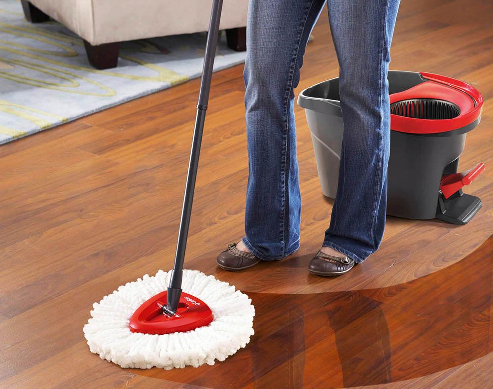 чем лучше мыть ламинат в домашних условиях