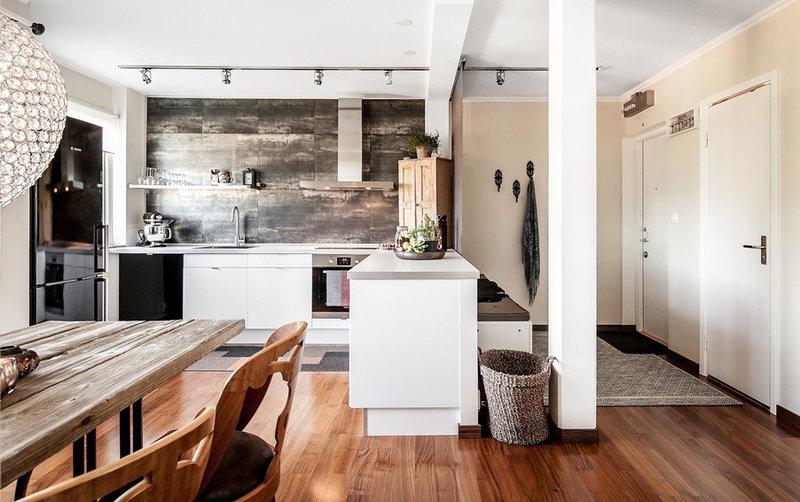 Кухня-студия (146 фото): дизайн интерьера кухни, совмещенной с гостиной, планировка зала-кухни в частном доме, как обустроить