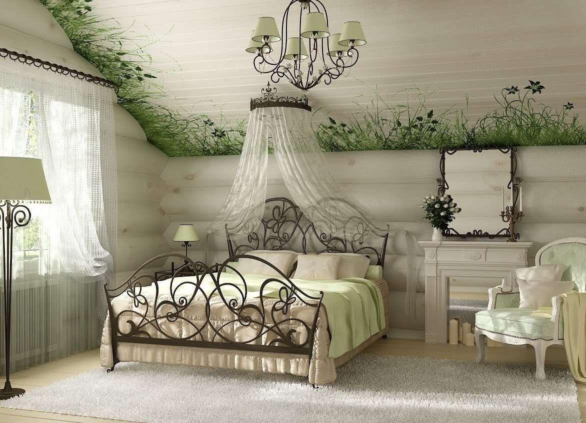 Люстра в спальню современный стиль, правила выбора и размещения