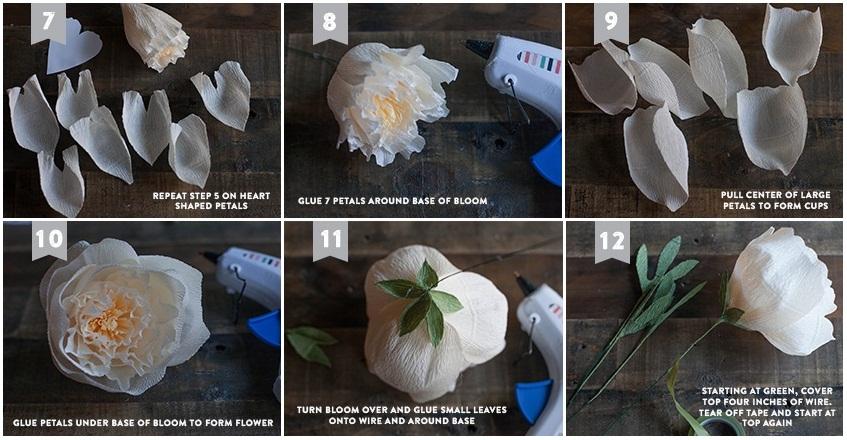 Цветы из гофрированной бумаги своими руками - розы, с конфетами, букеты - фото и видео мастер класс