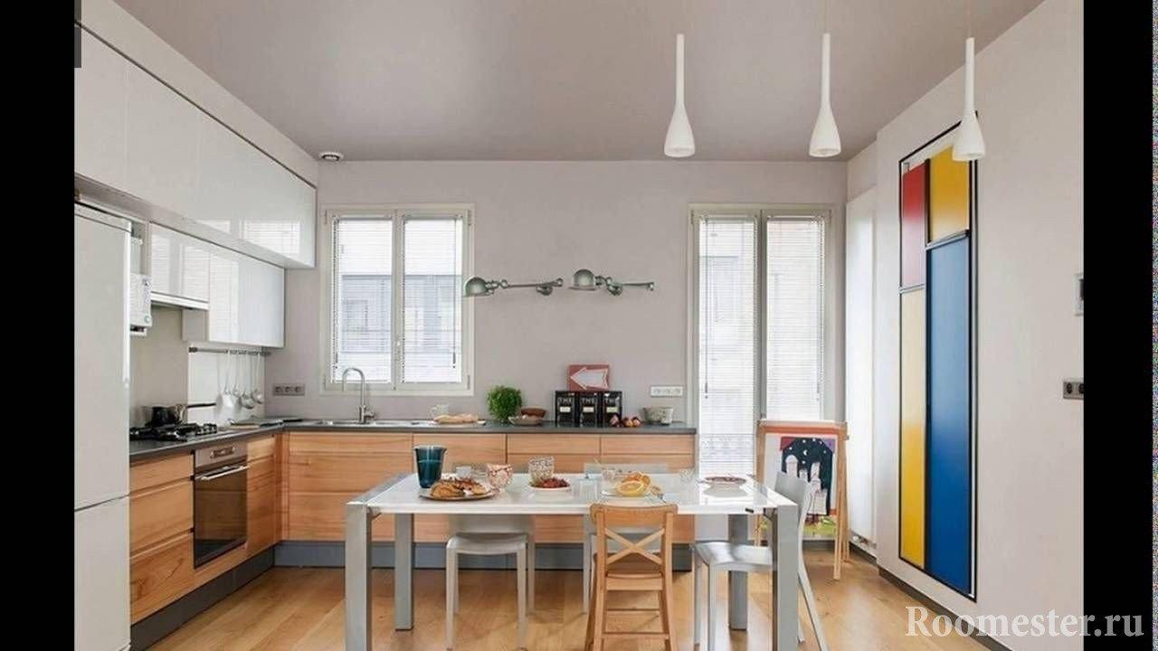 Дизайн кухни в частном доме: 54 идеи