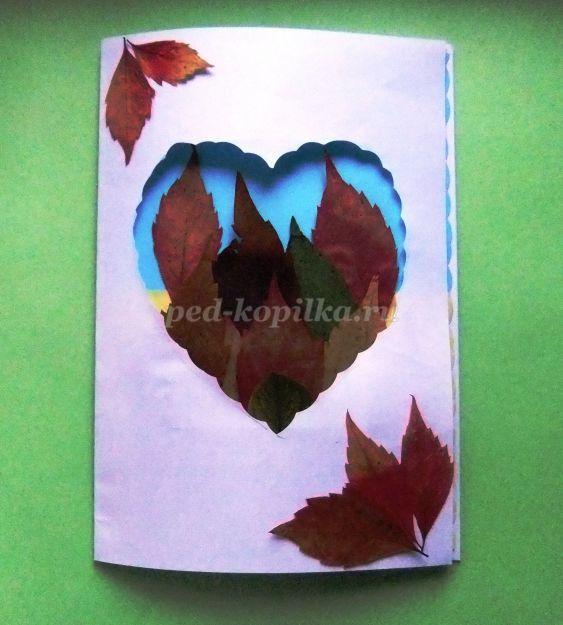 Поделки из листьев: сухих, осенние, фото, идеи, объемные, с шишками