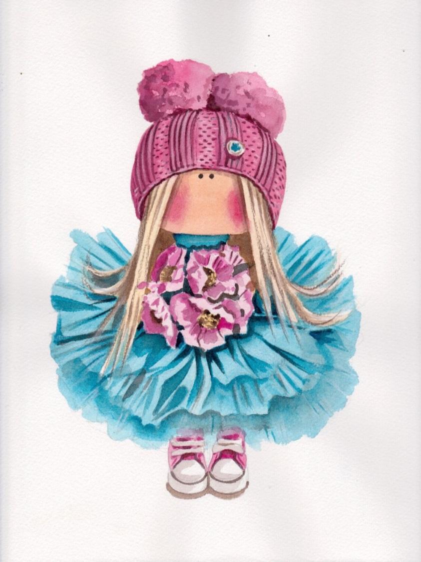 ручная кукла