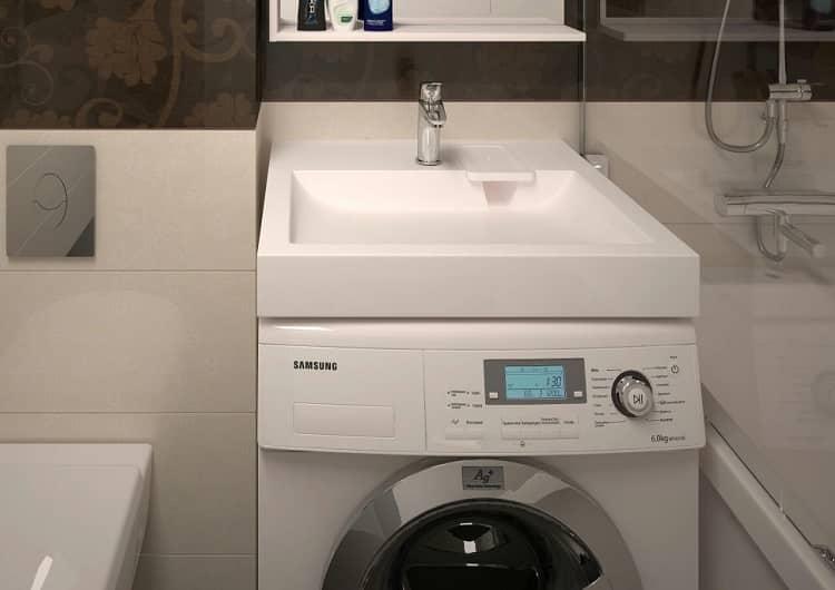 раковины в ванную под стиральную машину