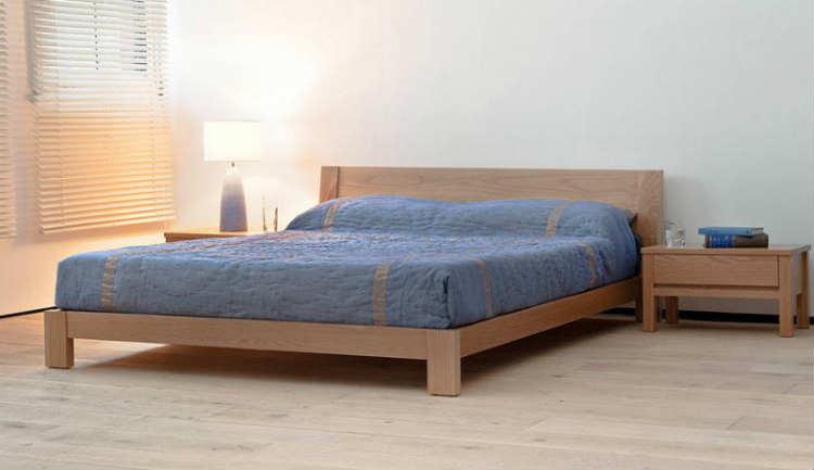 как самому сделать кровать из дерева
