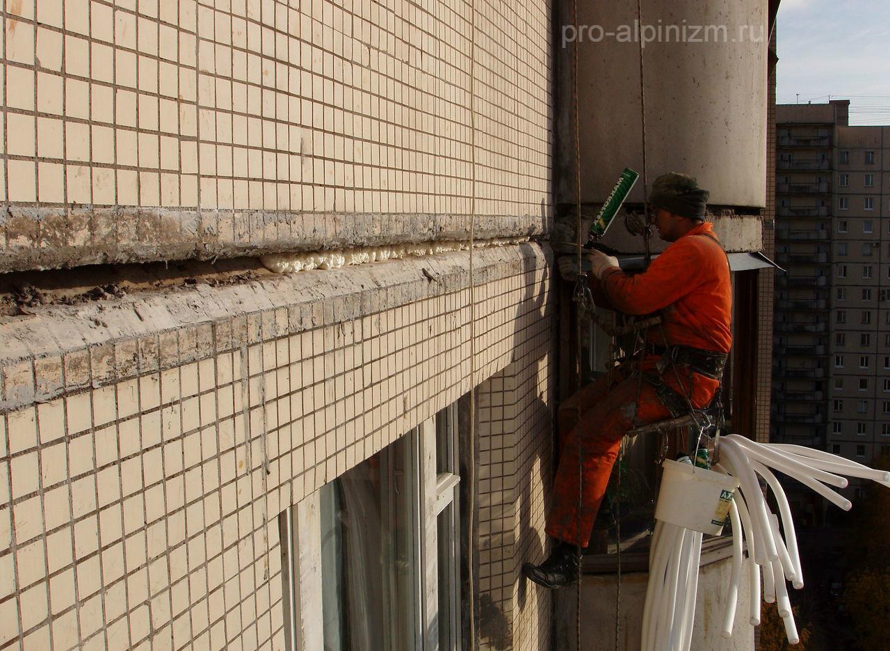 Теплоизоляция межпанельных швов: утеплитель для панельных домов, утепление изнутри, как утеплить своими руками