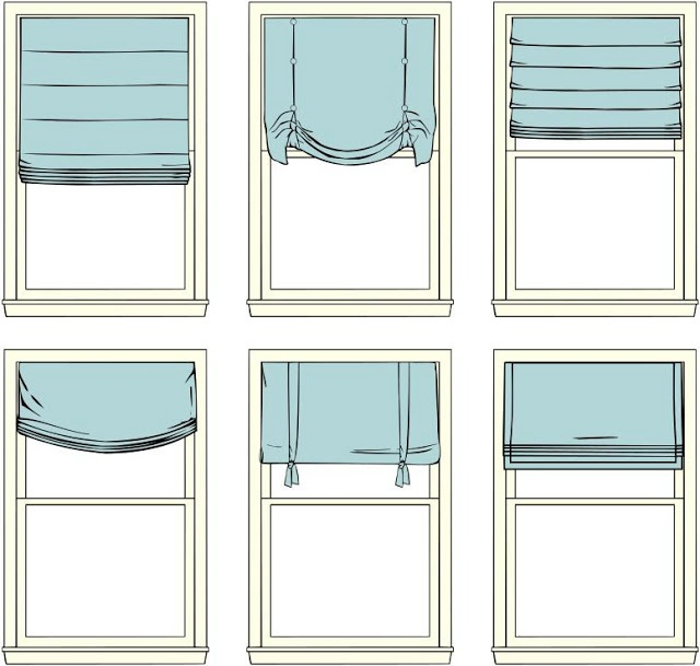 римские шторы на кухню видео