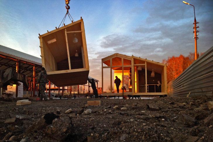 модульный дом для дачи