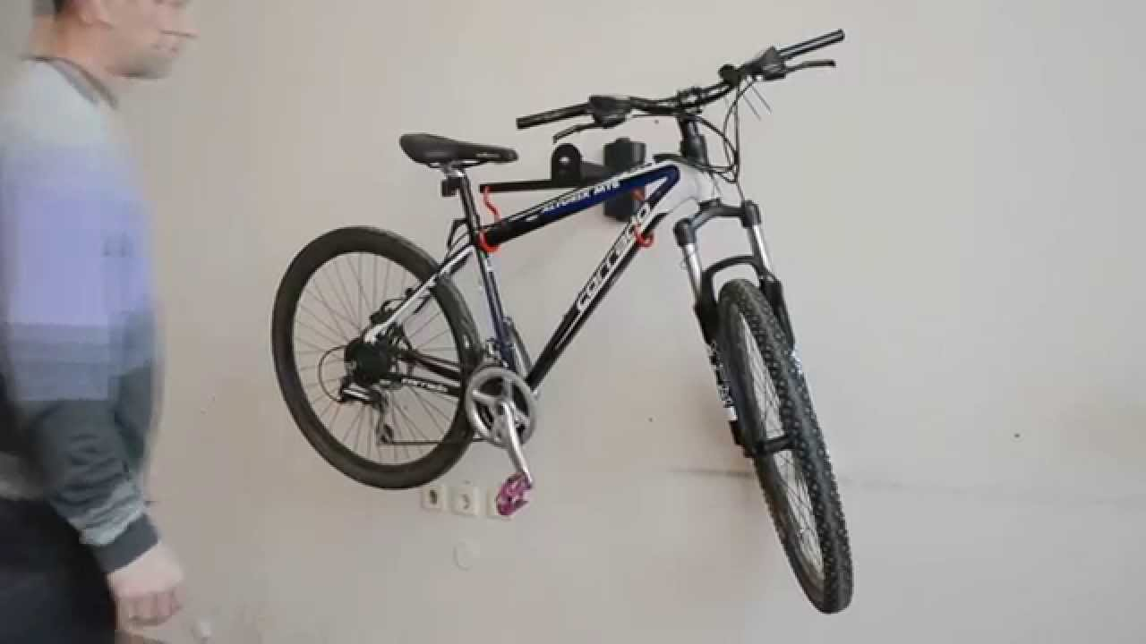 Крепление для велосипеда на стену – особенности вертикальной и горизонтальной конструкции, как правильно выбрать?