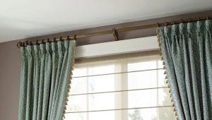 Гардины для штор - как подобрать лучший вариант для интерьера?