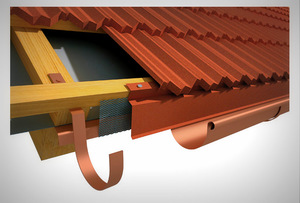 Торцевая планка для металлочерепицы: размеры и пошаговый монтаж