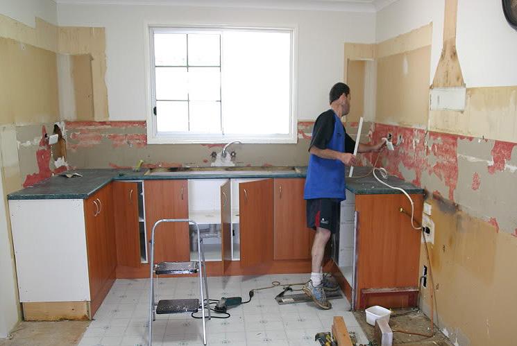 какие виды работ проводят на кухне