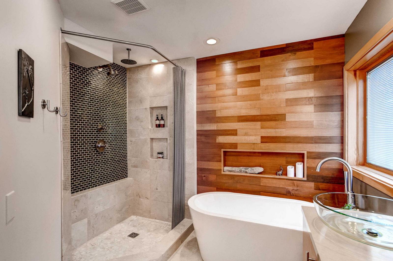 Чем отделать ванную комнату кроме плитки? 13 лучших идей