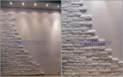 Клей для гипсовой плитки: средство для монтажа настенного покрытия под кирпич, чем приклеить белую керамику на стену и из гипсокартона, на какую смесь наклеить декоративный материал