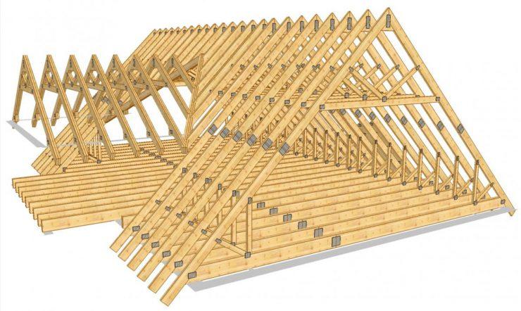 Двускатная крыша с разными скатами: технологии и примеры строительства