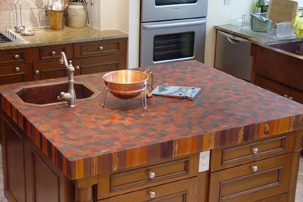 Столешница для кухни из дерева своими руками: экологичность всегда в моде