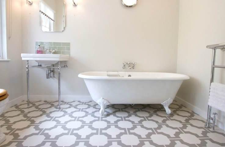 Не плиткой единой: альтернативные варианты отделки ванной комнаты