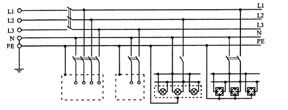 Разделение pen проводника на pe и n