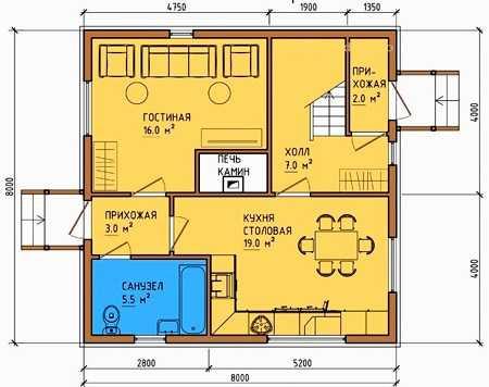 Планы двухэтажных домов: особенности и примеры интересных решений