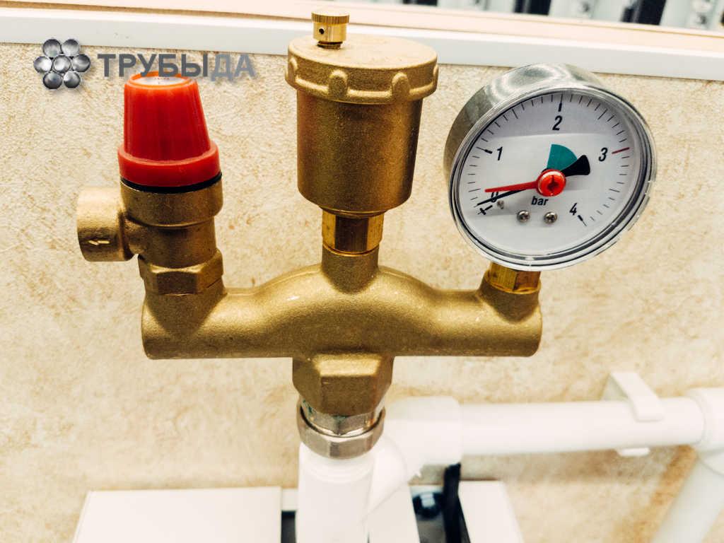 Предохранительный клапан для системы отопления - принцип работы, критерии выбора