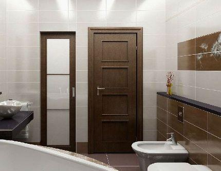 Дверцы для сантехнического шкафа в туалете (61 фото): пластиковые жалюзийные двери и другие модели, размеры дверей на стену в санузле