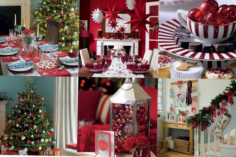 как красиво украсить дом к новому году
