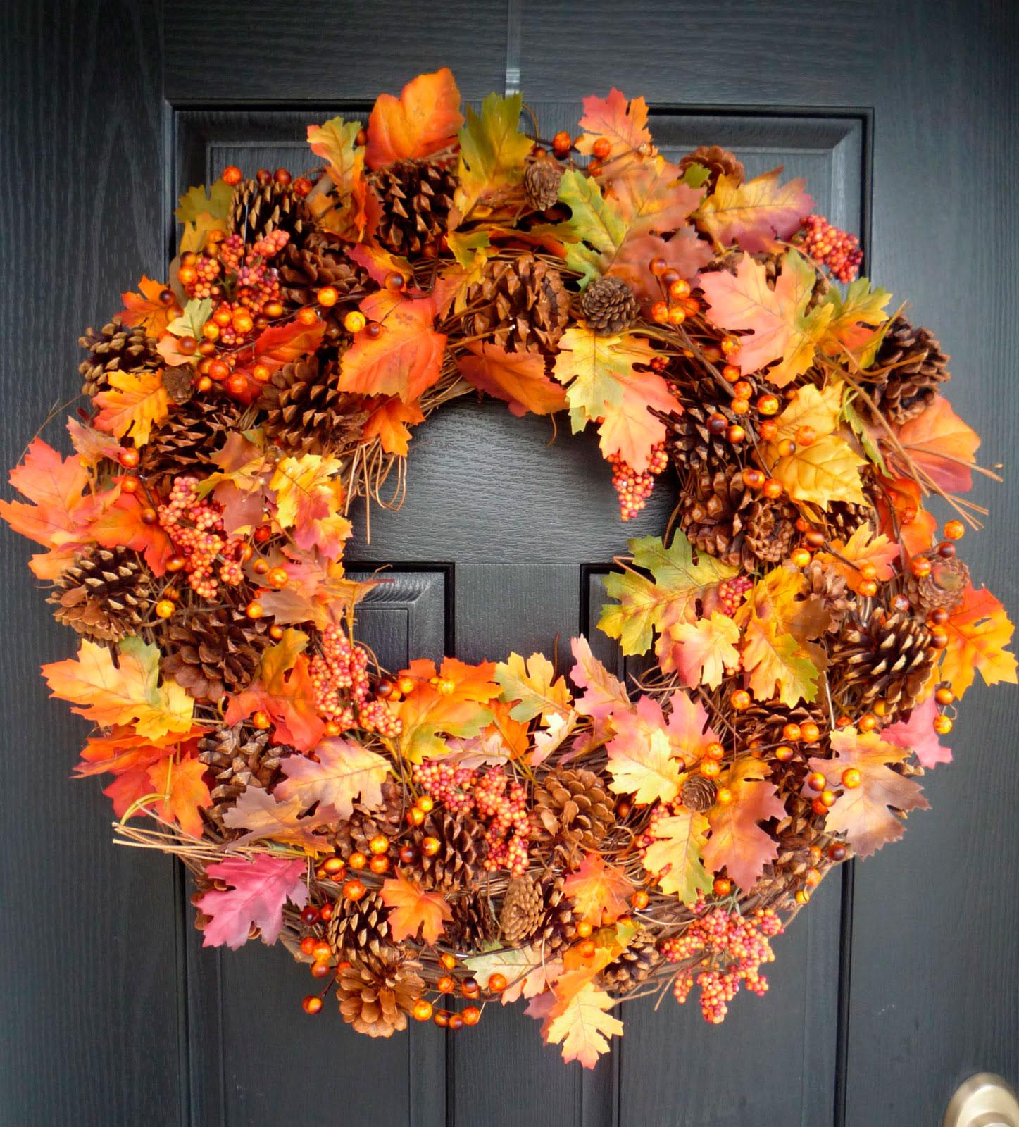 декор осень