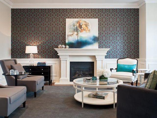 Коричневая гостиная: 100 фото идей дизайна и цветовых сочетаний