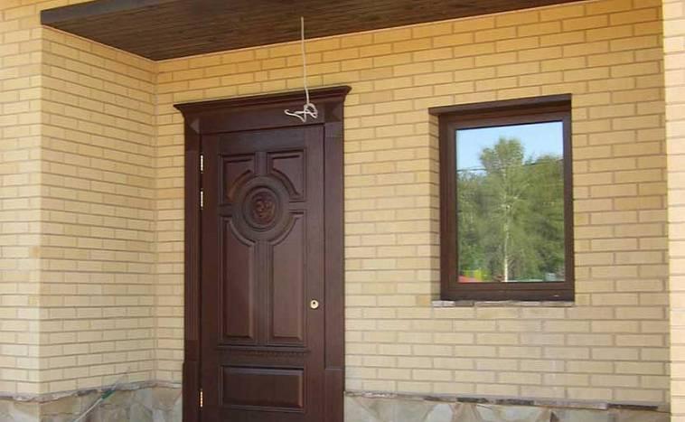 проем входной двери