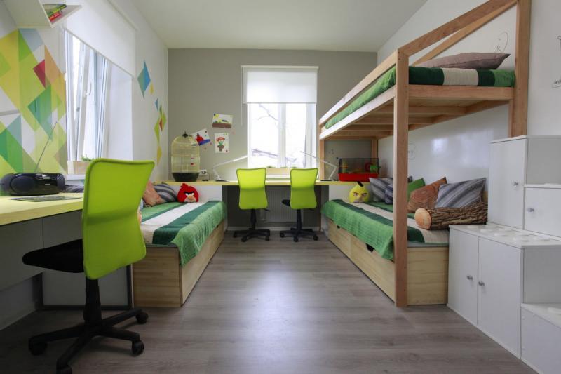 кровать для 3 детей
