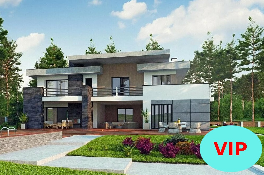 проекты 2х этажных домов