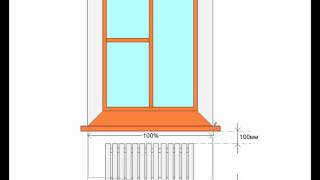 Размеры радиаторов отопления: биметаллические и алюминиевые, чугунные и стальные батареи, толщина и высота