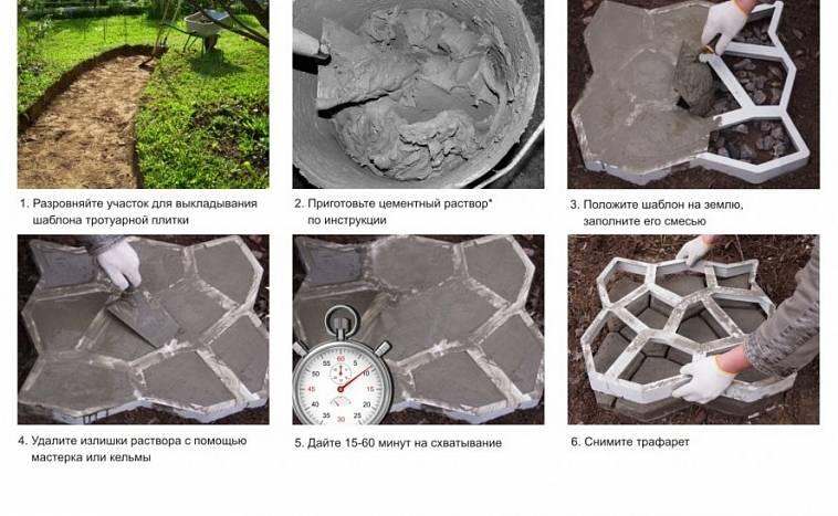 Укладка тротуарной плитки на сухую смесь: пропорции смеси для брусчатки и толщина. как класть плитку своими руками? расход цементно-песчаной смеси