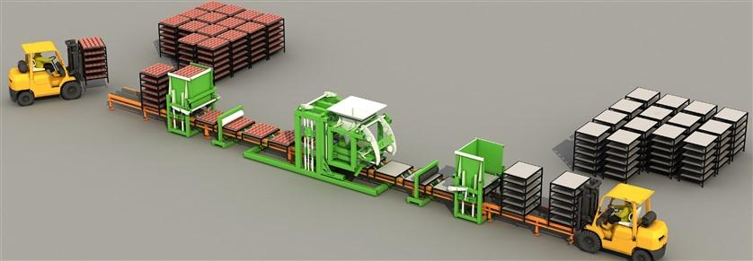 Оборудование для производства тротуарной плитки — правильный выбор. создание производства тротуарной плитки и сопутствующей продукции