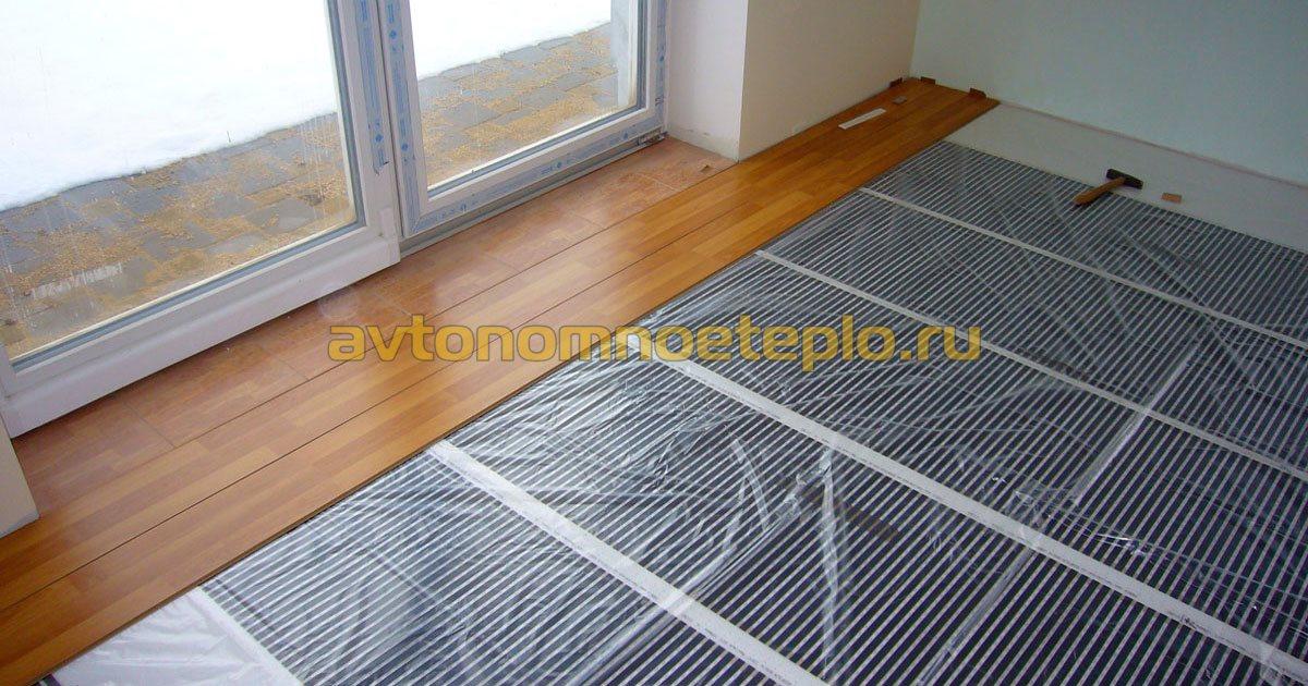 Тёплый пол и ковёр: насколько совместимы между собой
