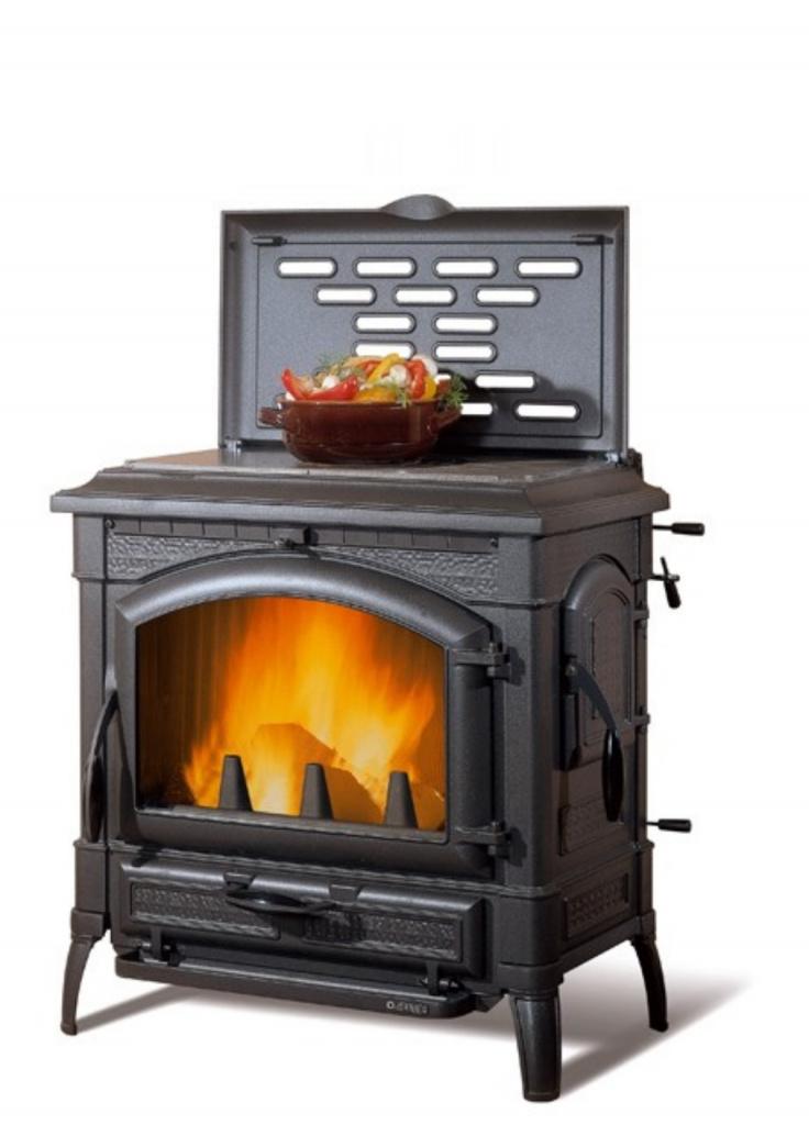 печь камин для дома длительного горения