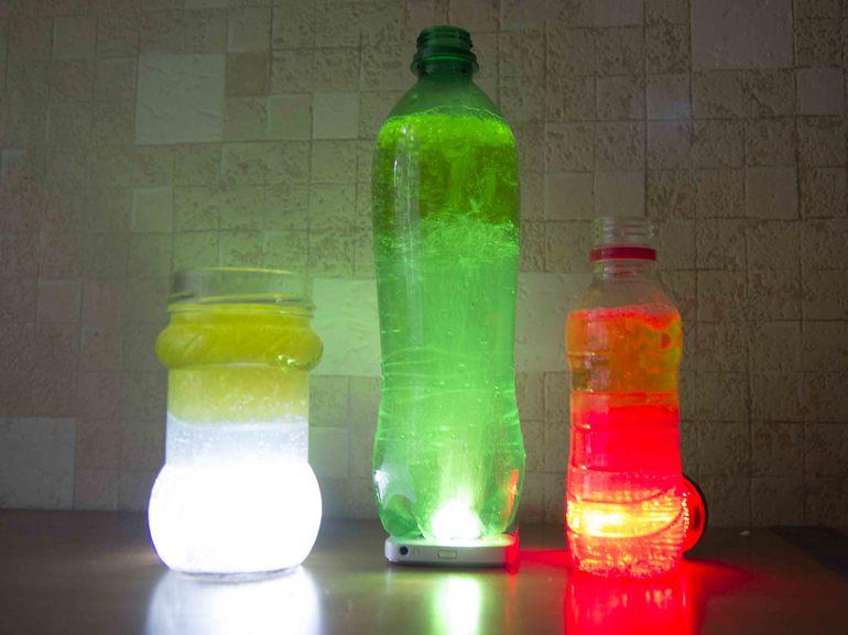 лампа с пузырьками