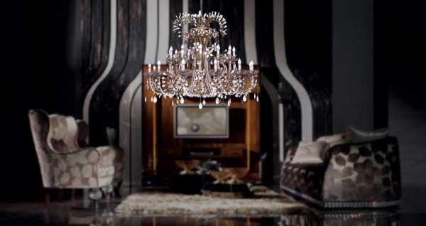 Дизайнерские современные люстры в зал