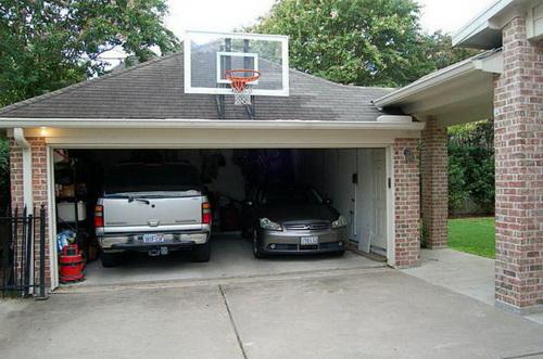 Размеры гаража на 2 машины с одними воротами и двумя: стандартная высота и ширина ворот, оптимальные размеры на один джип