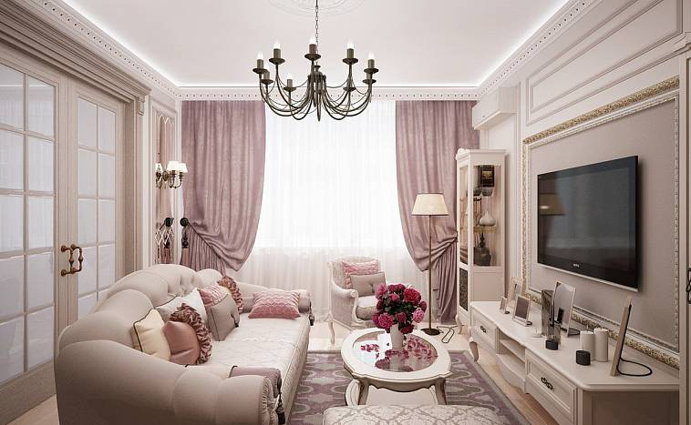 Нежно розовые обои. к каким обоям какие шторы подойдут – подбираем сочетание цветов