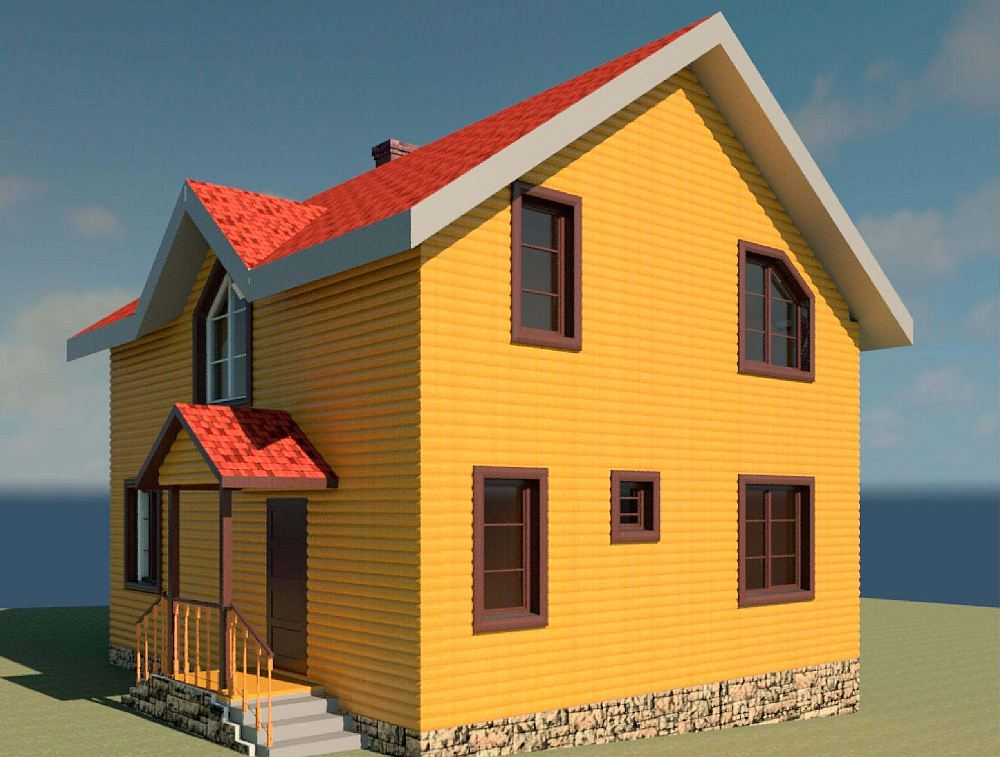 Каркасные дома: пошаговое строительство и дизайн лучших проектов (80 фото)