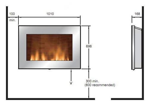 Выбор и установка электрического встраиваемого камина