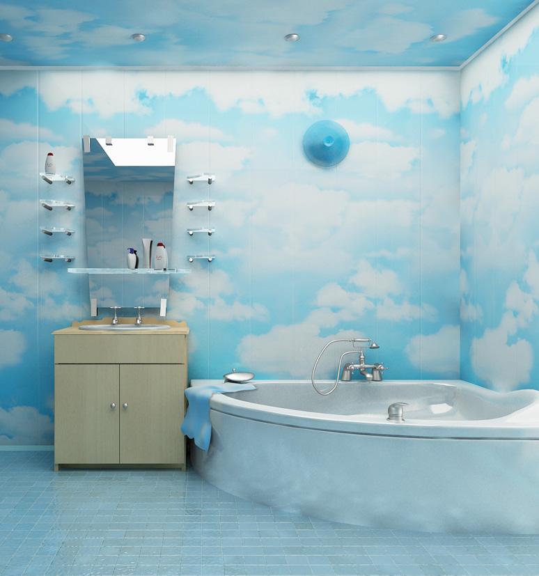 Бюджетный вариант отделки ванной комнаты (фото и видео инструкция)