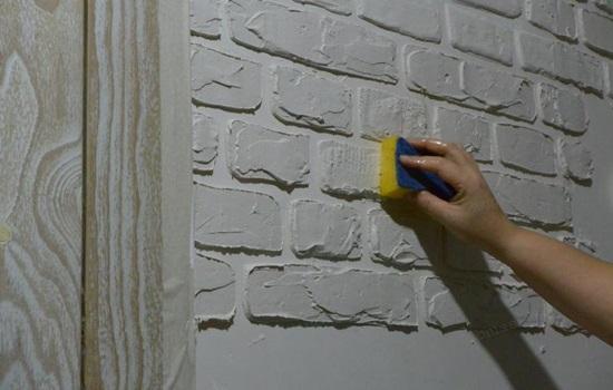Как сделать имитацию кирпичной стены своими руками - клуб мастеров