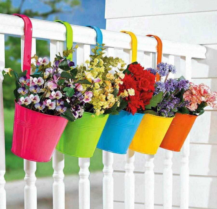 Декор цветочных горшков своими руками: более 50 идей - сам себе мастер - медиаплатформа миртесен