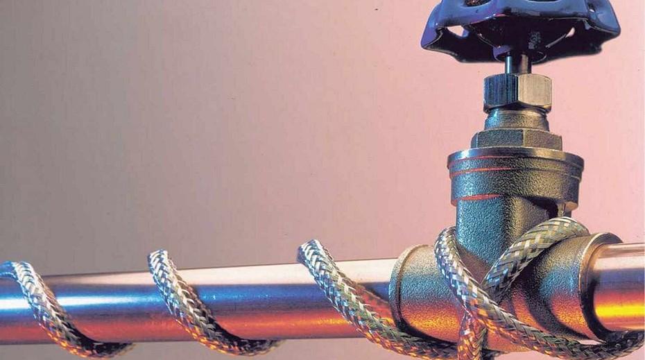 греющий кабель наружный для водопровода